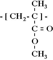 สูตรเคมีของพลาสติกอะคริลิคชนิดนี้คือ C5H8O2
